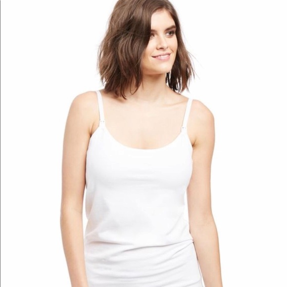 d875cb17e2eb2 Motherhood Maternity Nursing Tank Top - White. M_5c7ead820cb5aa0dba0d8e84